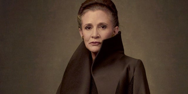 Star Wars The Last Jedi Carrie Fisher Final Role Rian Johnson