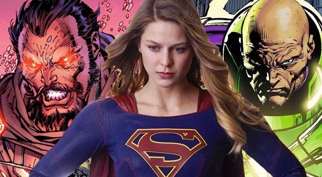 supergirl zod lex luthor
