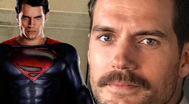 superman mustache