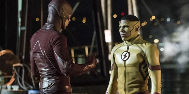 The Flash Kid Flash Reaction Keiynan Lonsdale