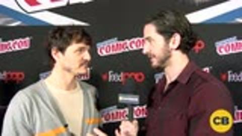 The Great Wall's Pedro Pascal at the New York Comic Con screen capture