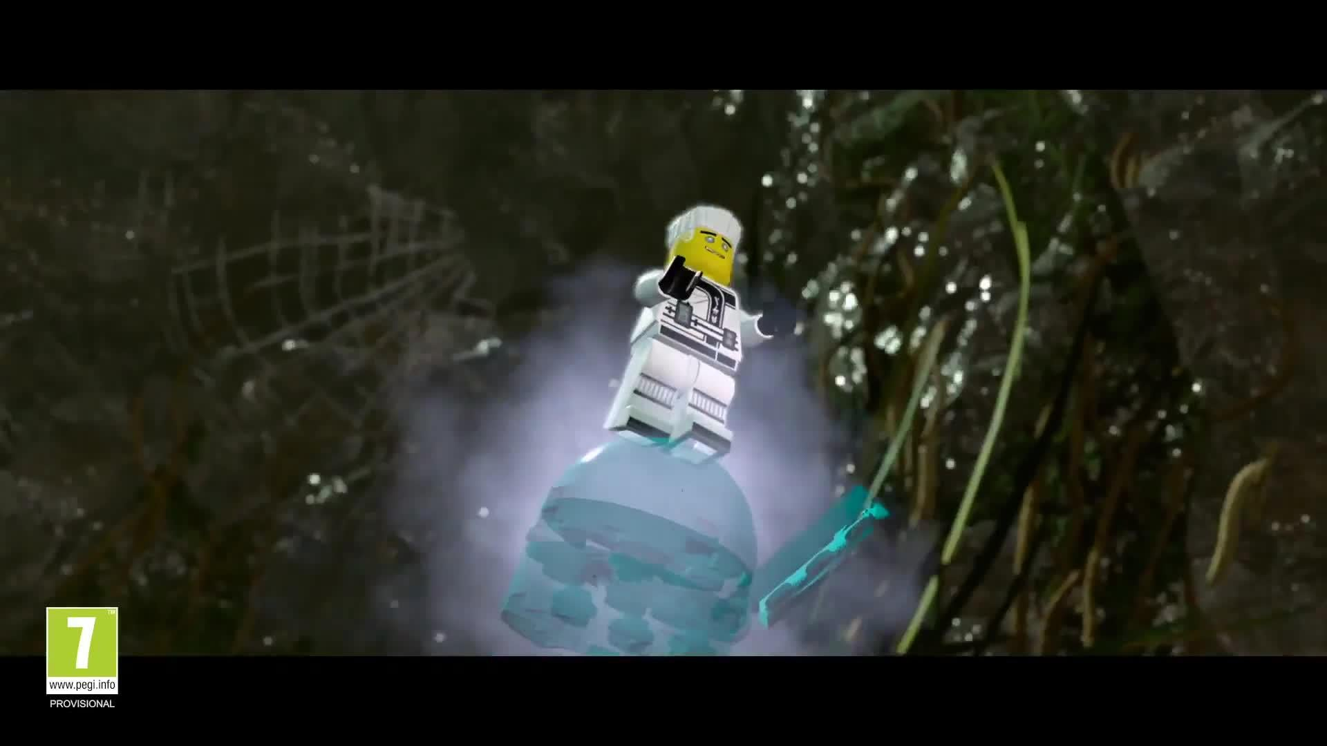 The LEGO Ninjago Movie Video Game Announce Trailer screen capture