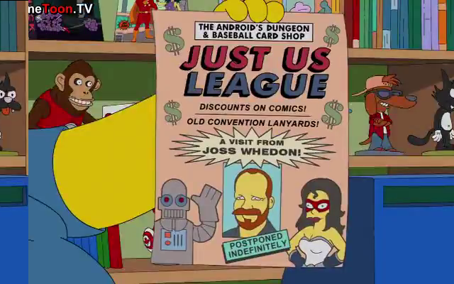 the simpsons justice league joss whedon