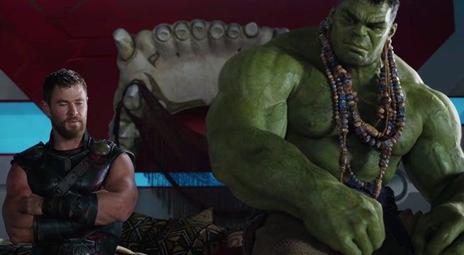 thor ragnarok thor hulk