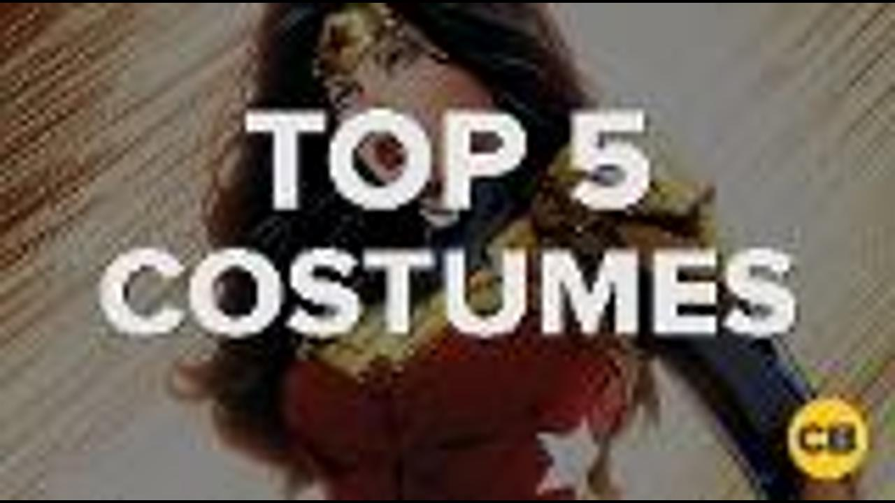 Top 5 Wonder Woman Costumes screen capture