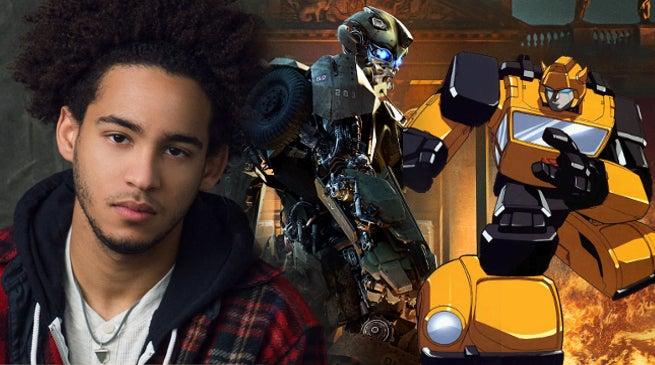 Transformers Bumblebee Movie Jorge Lendeborg Jr