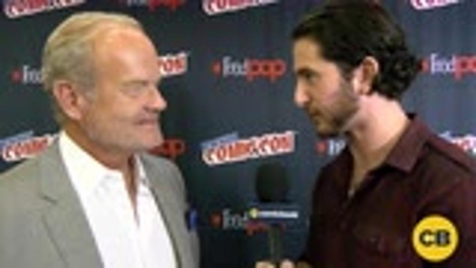 Trollhunters' Kelsey Grammer at the New York Comic Con screen capture