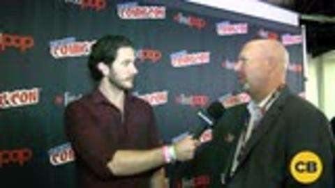 Trollhunters' Showrunners Marc Guggenheim and Rodrigo Blaas at the New York Comic Con screen capture