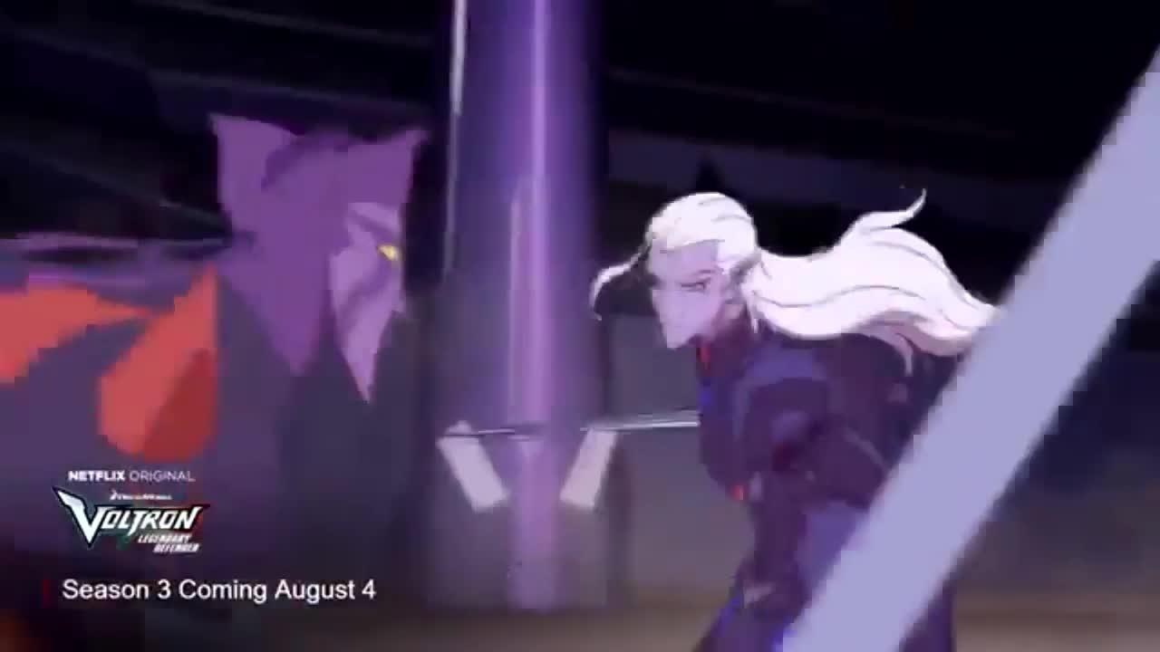 Voltron Season 3 Teaser screen capture