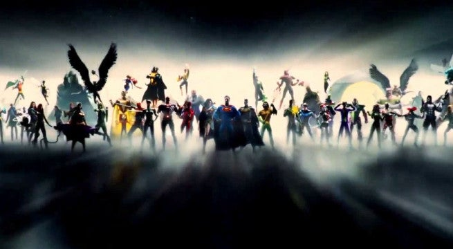 Watch The New DC Comics Movie Intro From Wonder Woman