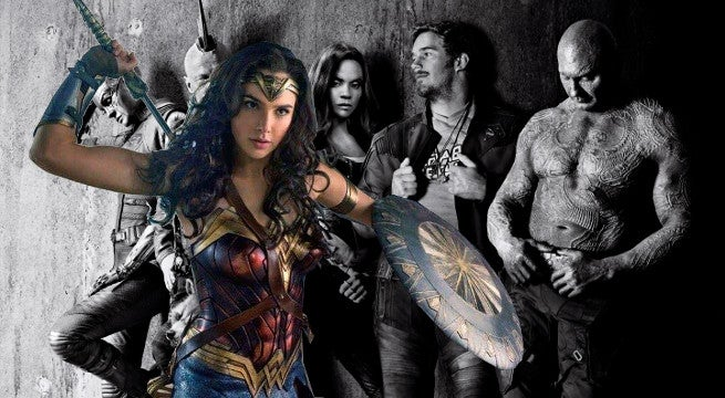 wonder woman beats guardians of the galaxy vol 2