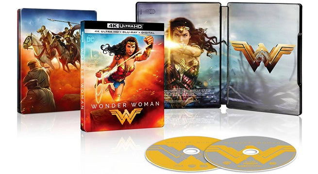 wonder woman blu ray steelbook