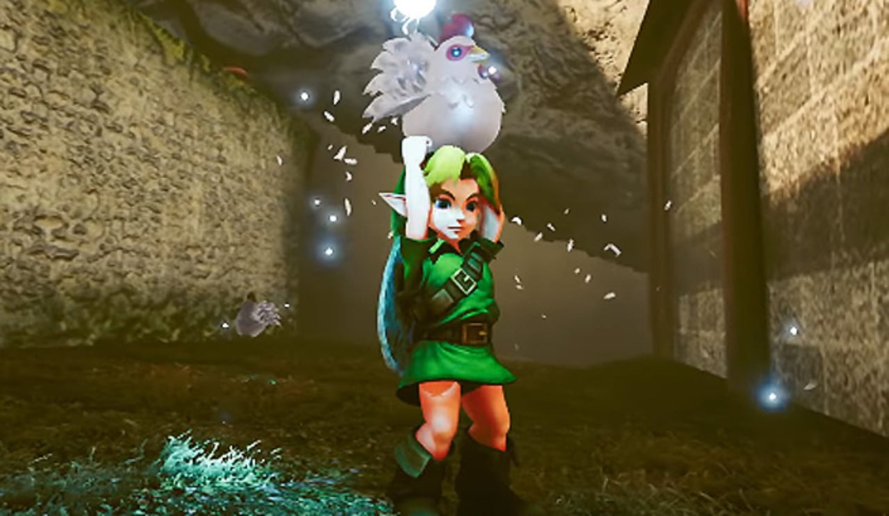 Zelda: Ocarina Of Time Fans Need To Play This Unreal Engine 4 Remake