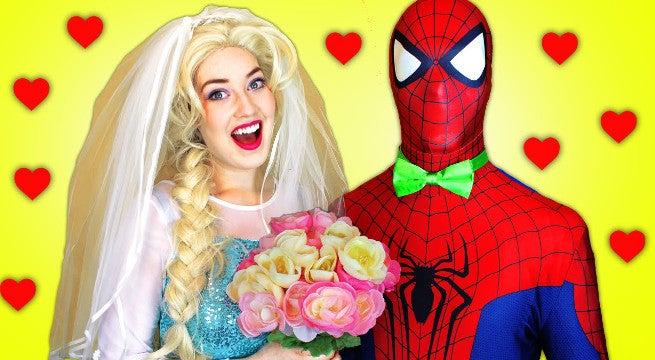 Youtube Frozen Elsa Spider-Man Videos Have Billions Of Views