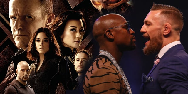 agents of shield mayweather mcgregor