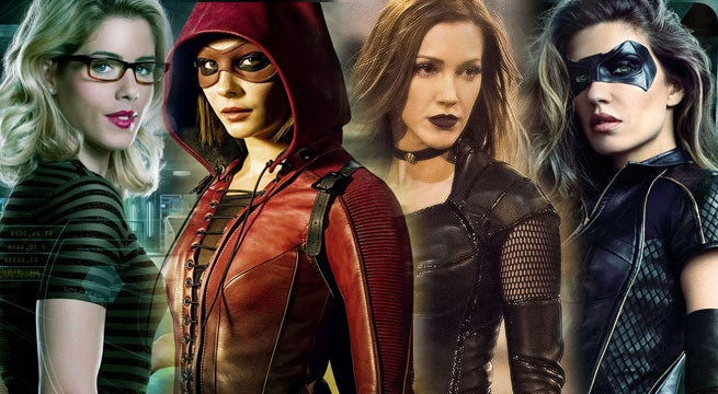 arrow felicity speedy black siren black canary