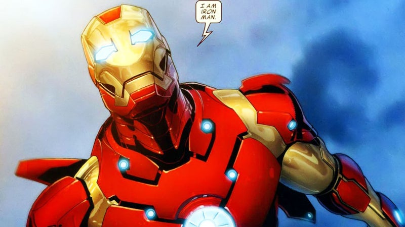 Avengers Iron Man Bleeding Edge Armor