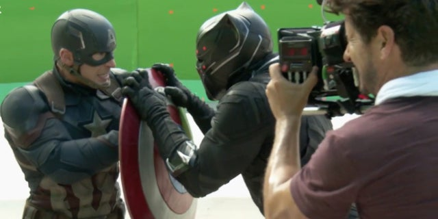 Captain America Civil War VFX Video