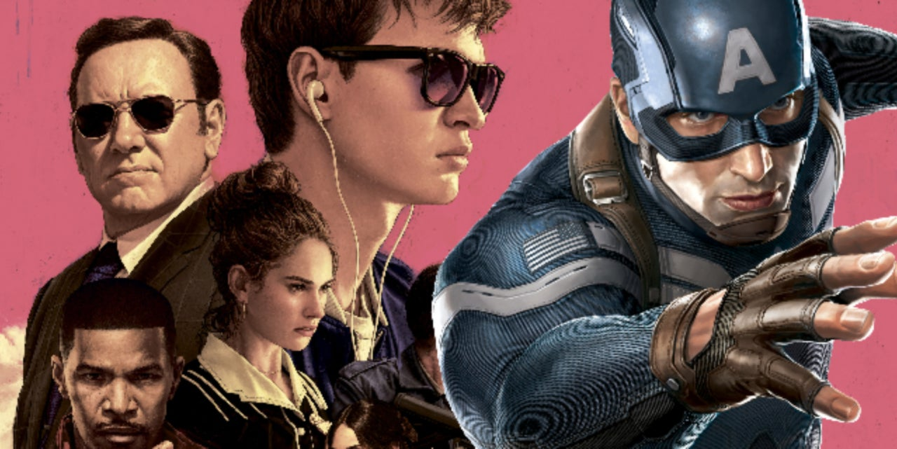 Captain America: The Winter Soldier' Meets 'Baby Driver' In Amazing