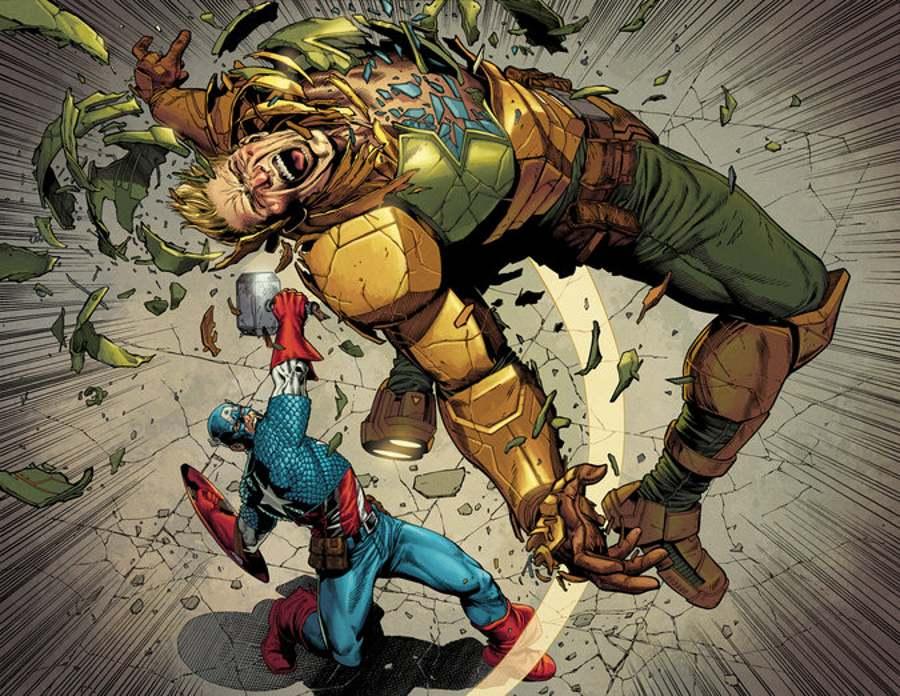 Captain America v Hydra Cap