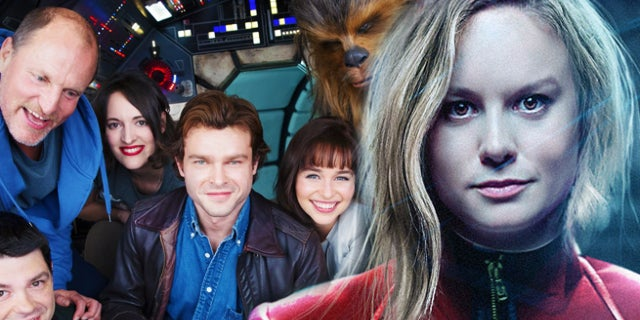 captain marvel brie larson han solo star wars