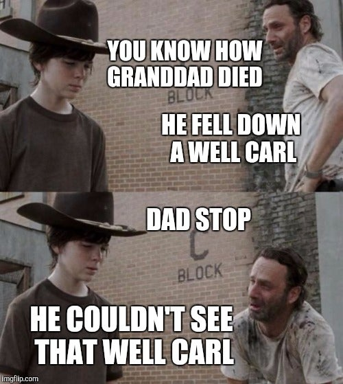 Chandler Riggs Acknowledges All Of The Walking Dead Carl Memes