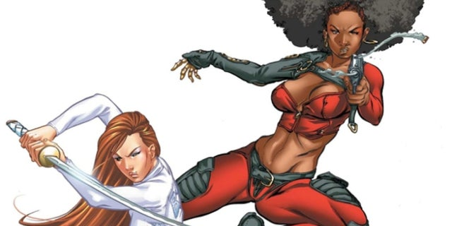 Daughters of the Dragon Marvel Netflix Misty Knight Colleen Wing
