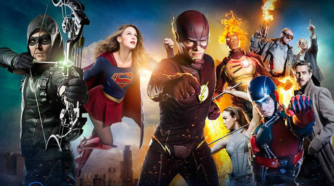 DC TV Arrowverse Super Season Trailer 2017