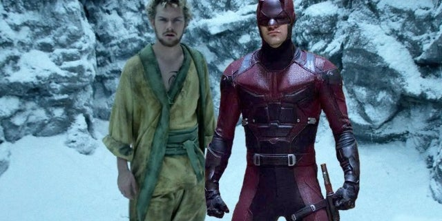 defenders daredevil iron fist