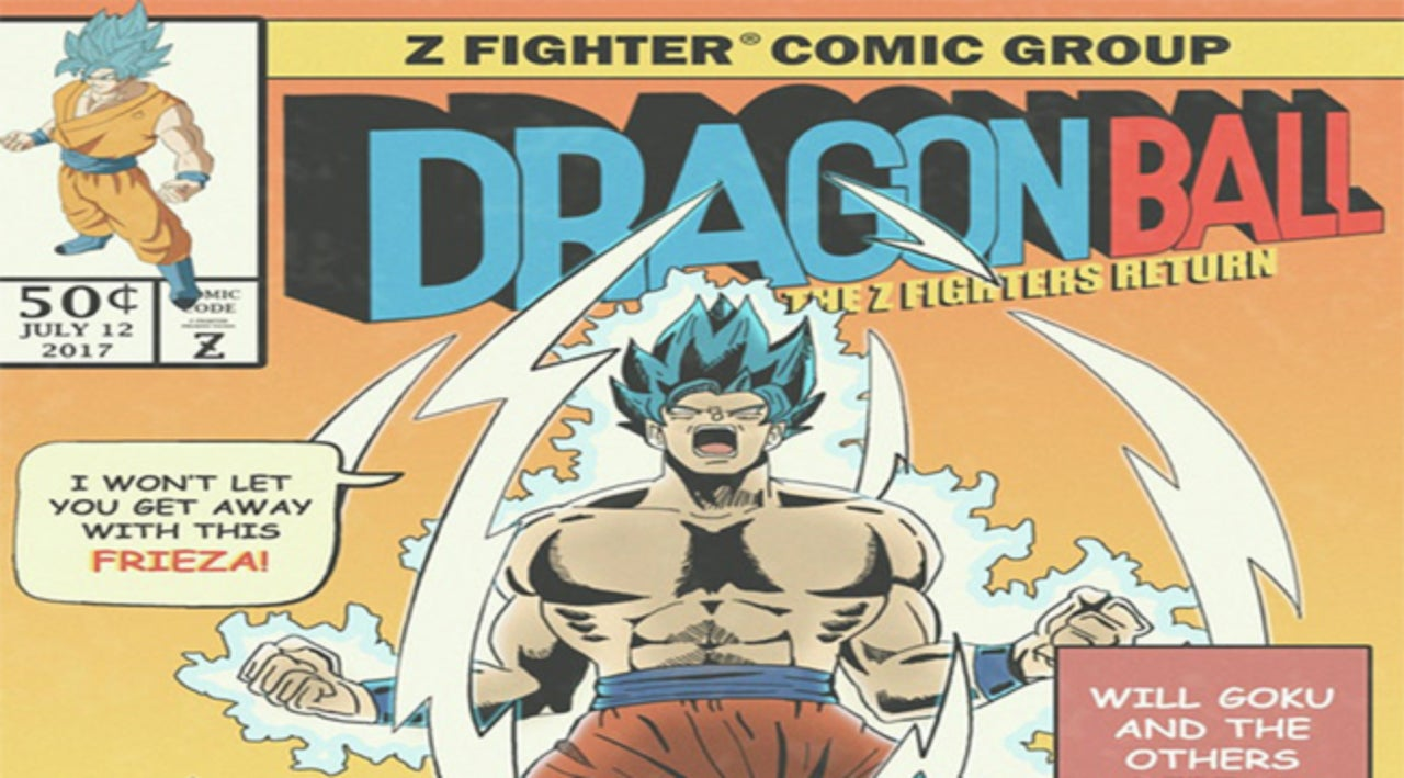 this marvel dragon ball comic art is the stuff of dreams