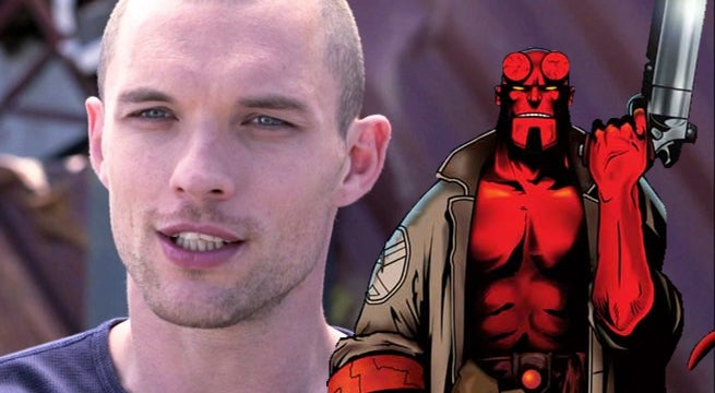 ed skrein hellboy