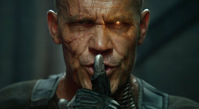 First Look Josh Brolin Cable in Deadpool 2