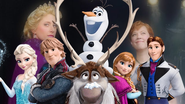 Frozen-First-Look-At-Cast