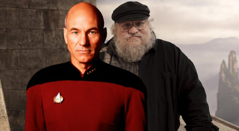 George RR Martin Star Trek