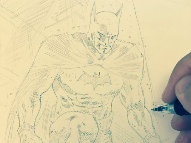 Gio Batman Sketch