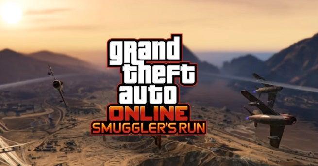 Grand Theft Auto Online Smuggler's Run