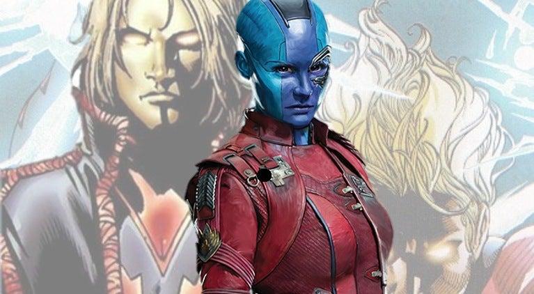 Guardians of the Galaxy 2 Nebula Adam Warlock