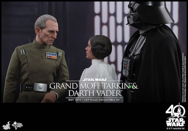 Hot Toys - SW - Grand Moff Tarkin & Darth Vader Collectible Set PR4