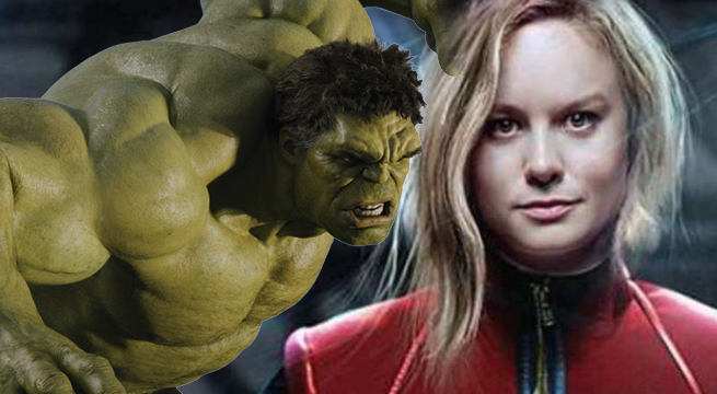 Captain Marvel's Brie Larson Wants To Fight The Hulk