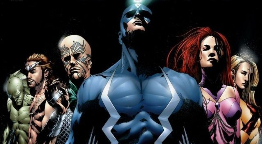 Inhumans Marvel Knights