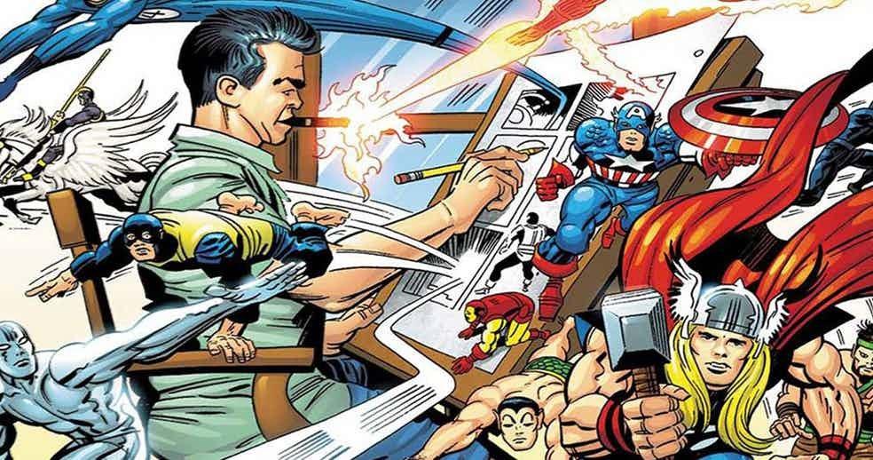 Jack-Kirby-Marvel-Characters