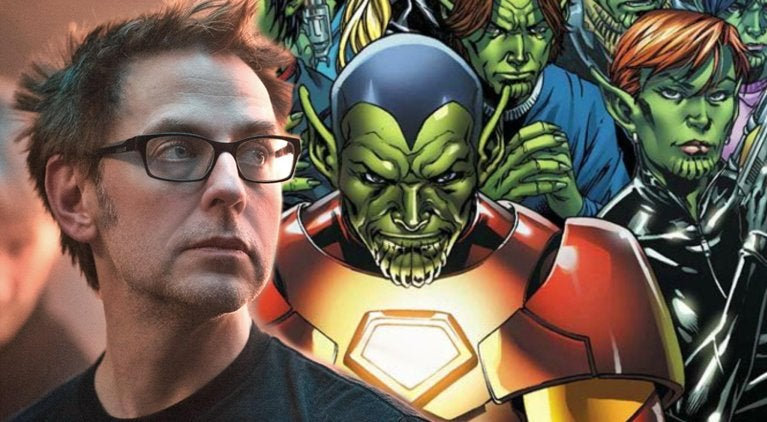 james-gunn-reacts-skrulls-captain-marvel-guardians-of-the-galaxy
