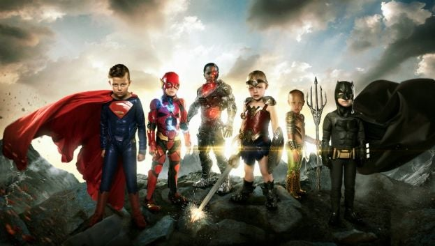justice league kids real heroes