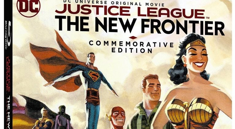Justice League The New Fontier Commemorative Edition