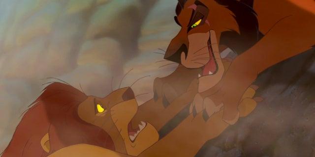 lion king mufasa scar