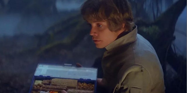 luke skywalker dagboha empire strikes back food
