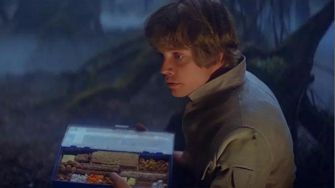 luke skywalker dagboha empire strikes back food