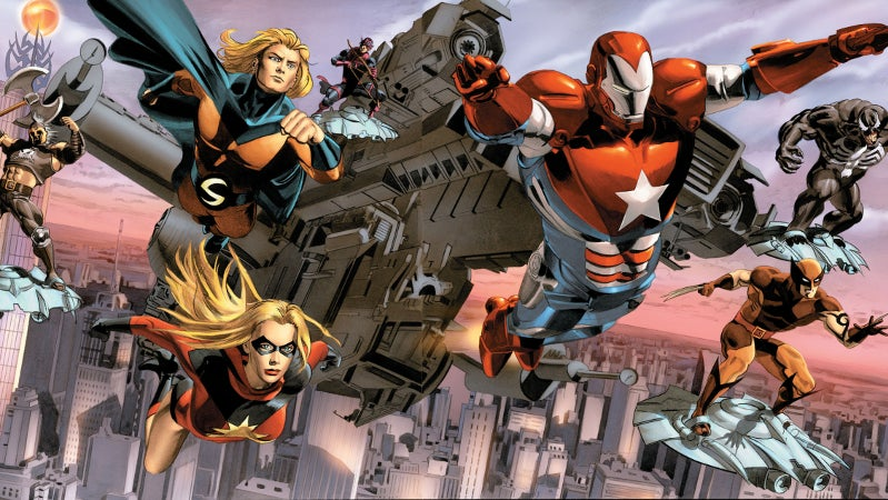 Marvel Cinematic Universe Dark Reign