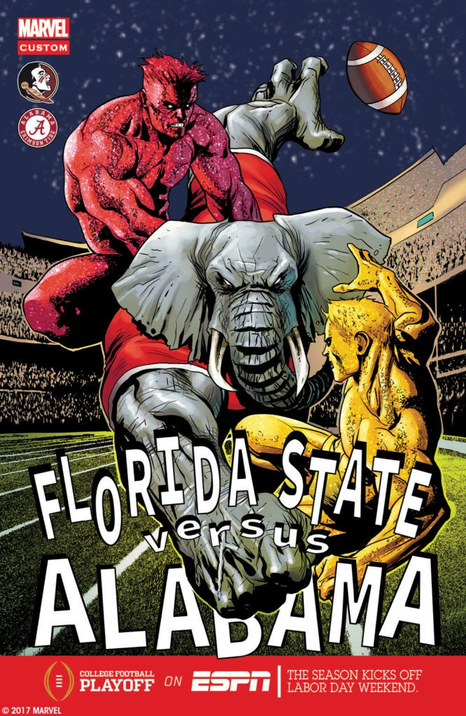 Marvel Comics College Football Kickoff Weekend - Florida vs Alabama
