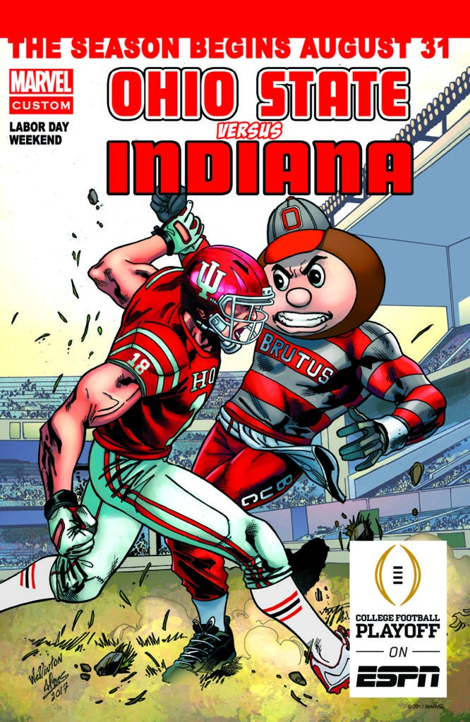 Marvel Comics College Football Kickoff Weekend - Ohio vs Indiana